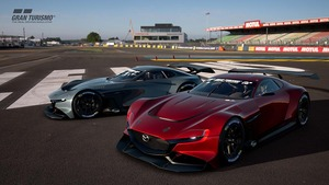 マツダのバーチャルレースカー、「RX-VISION GT3 COCEPT」のオンライン提供がスタート!