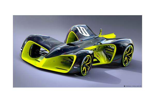 完全自動運転の無人車レース!! フォーミュラEの前座レースとして登場 【ロボレース】