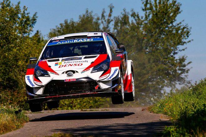WRCドイツ:タナクとヌービルが僅差で首位争う。王者オジエも3番手から虎視眈々