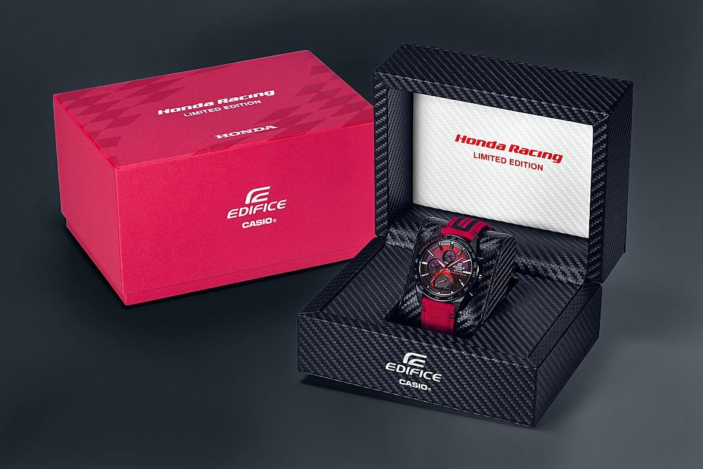 F1エンジンの素材を使ったモデルも! カシオ・エディフィスのホンダレーシングコラボモデル第2弾を発表