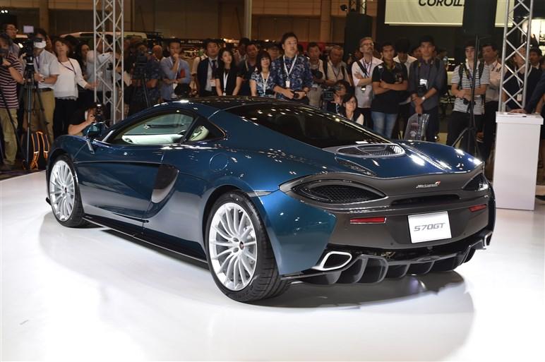 マクラーレン・スポーツシリーズ第3弾「570GT」が日本初公開