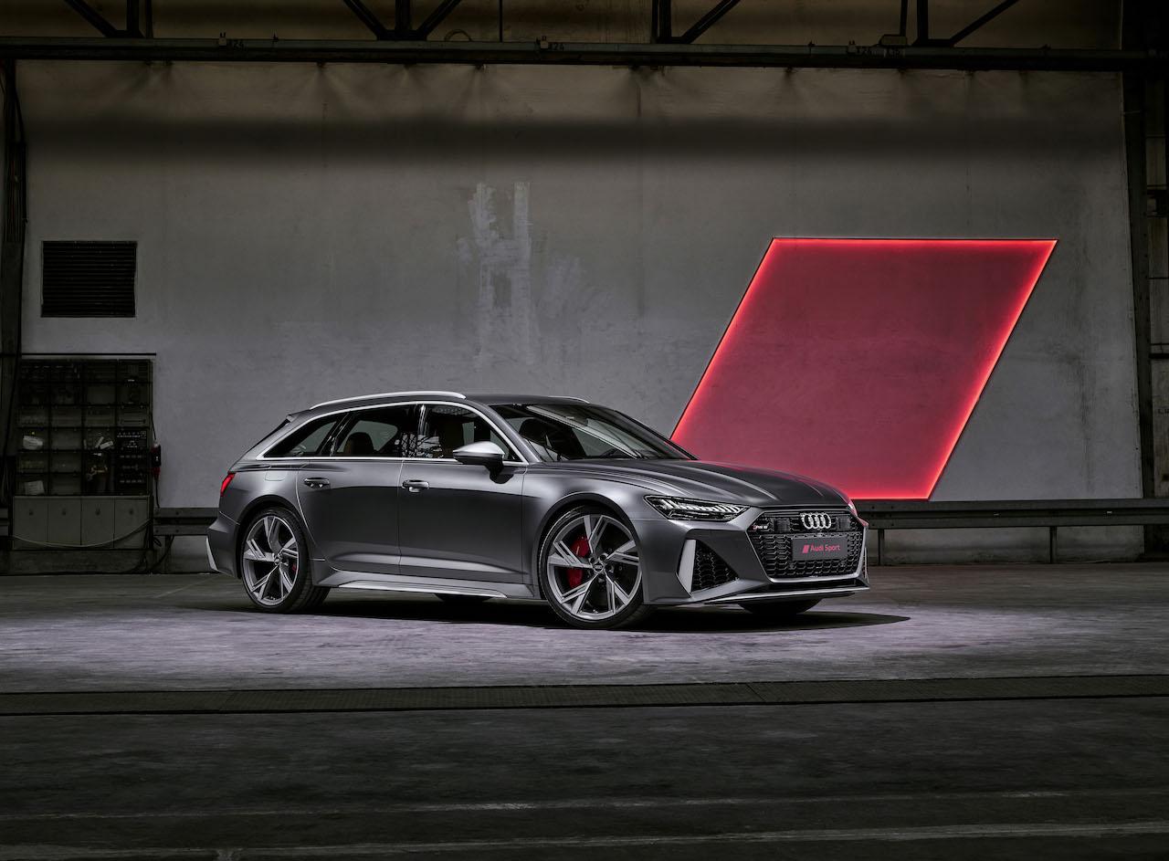 超高性能ワゴン「アウディ RS6 アバント」がフルモデルチェンジで4代目に進化!