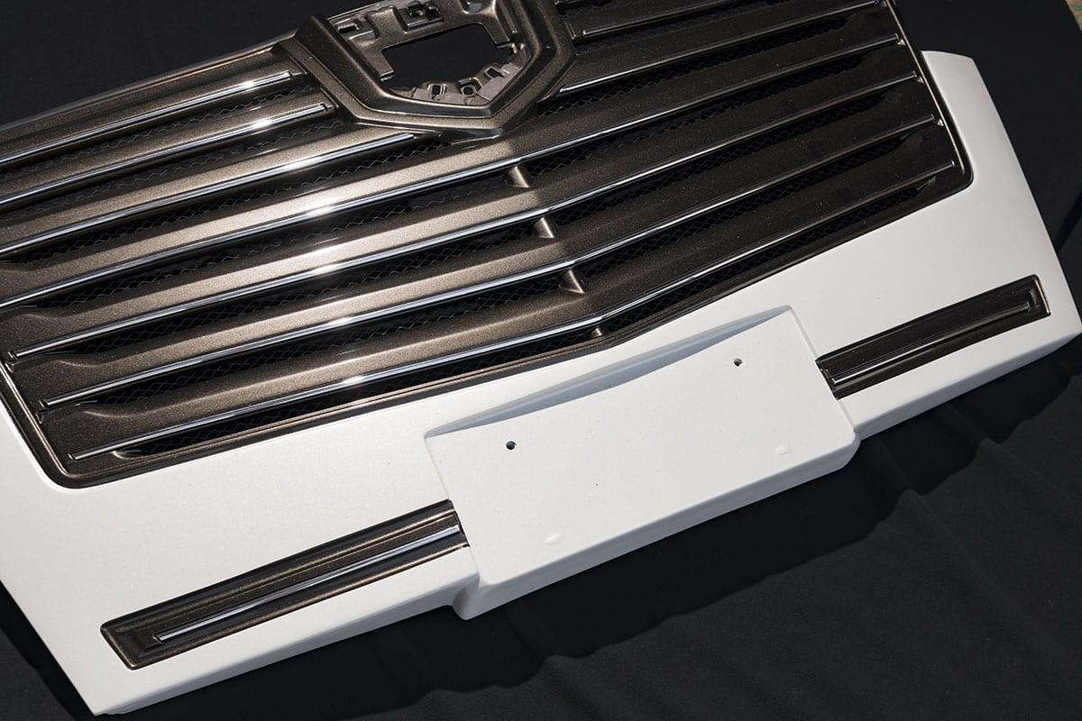 インテリジェントクリアランスソナー付きでもフロントグリルがカスタムできる!|30系後期アルファード カスタム