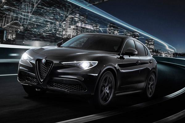 アルファロメオ ステルヴィオの限定車「2.0ターボ Q4 モノクロームエディション」発売
