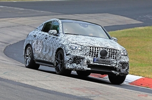 メルセデス-AMG GLE63クーペ 2020年発売に向けテスト中