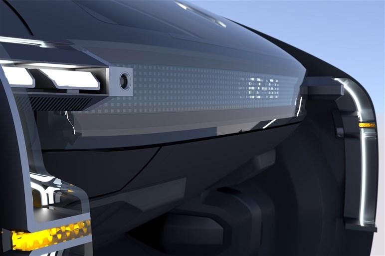 ルノー、自動運転タクシーを見据えたコンセプトカーを披露