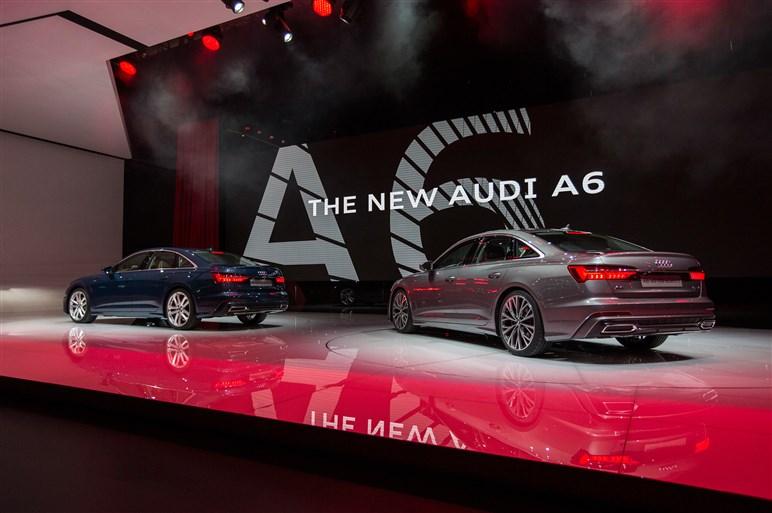 アウディ、新型A6をワールドプレミア 最先端のビジネスマンズ・エクスプレスへ