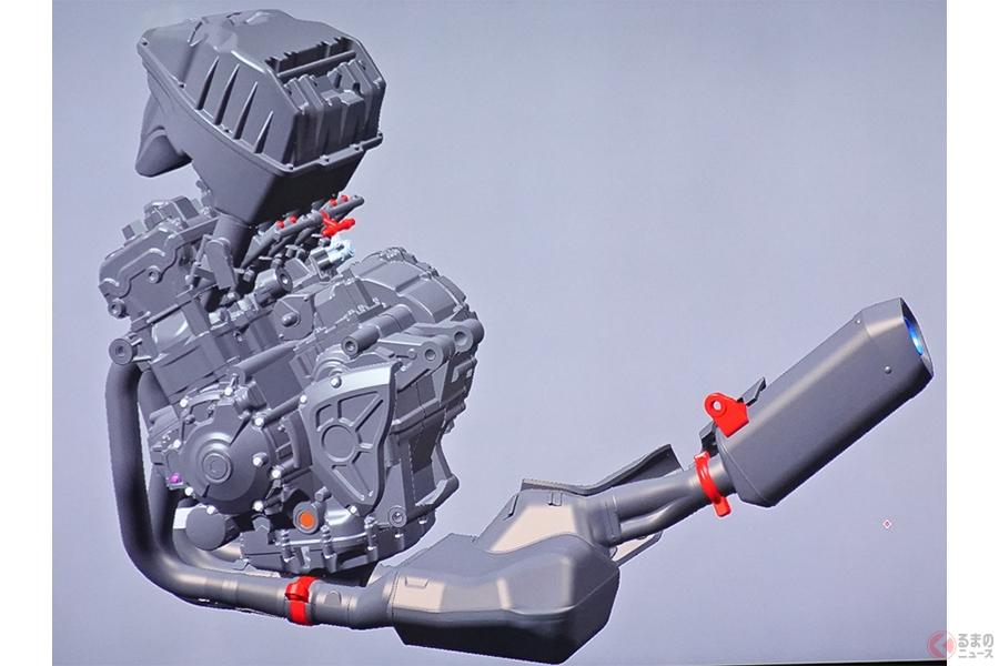 タミヤはヤマハ「YZF-R1M」を模型化するため何を削り、何を残したのか?