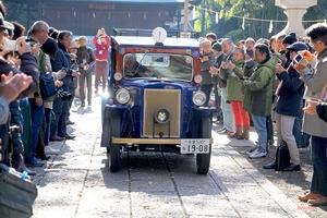 【旧車、200台集合】谷保天満宮旧車祭2019 日本の自動車文化の発祥地、クラシックカー集結