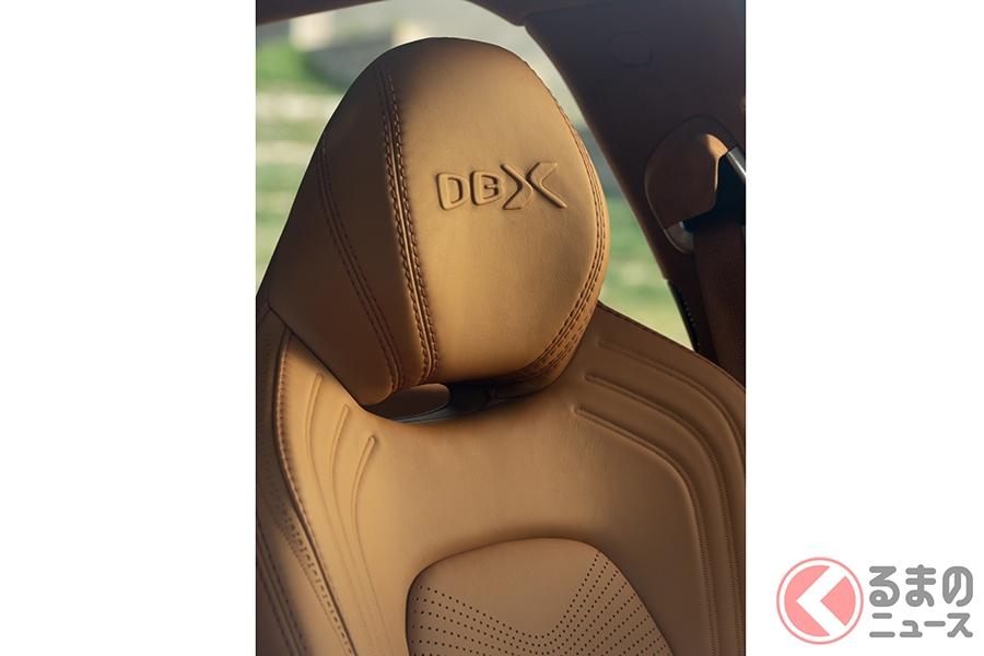 アストンマーティンが東京オートサロンに、2300万円の「DBX」を出展!