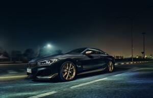 BMW 8シリーズにゴールドのアクセントをプラスした限定車「エディション・ゴールデン・サンダー」発売