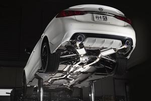 「スカイライン400Rを覚醒させよ!」柿本改から車検対応の高効率マフラーが登場