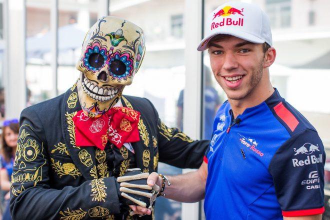 トロロッソ・ホンダF1のガスリー、2年連続最後尾スタートの「ツキがないメキシコ」で入賞を狙う
