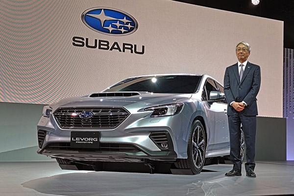 【東京モーターショー2019】スバル レヴォーグ・プロトタイプを公開
