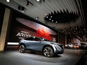 日産のサプライズ発表は「ニッサン アリア コンセプト」。市販化も現実的か【東京モーターショー2019】