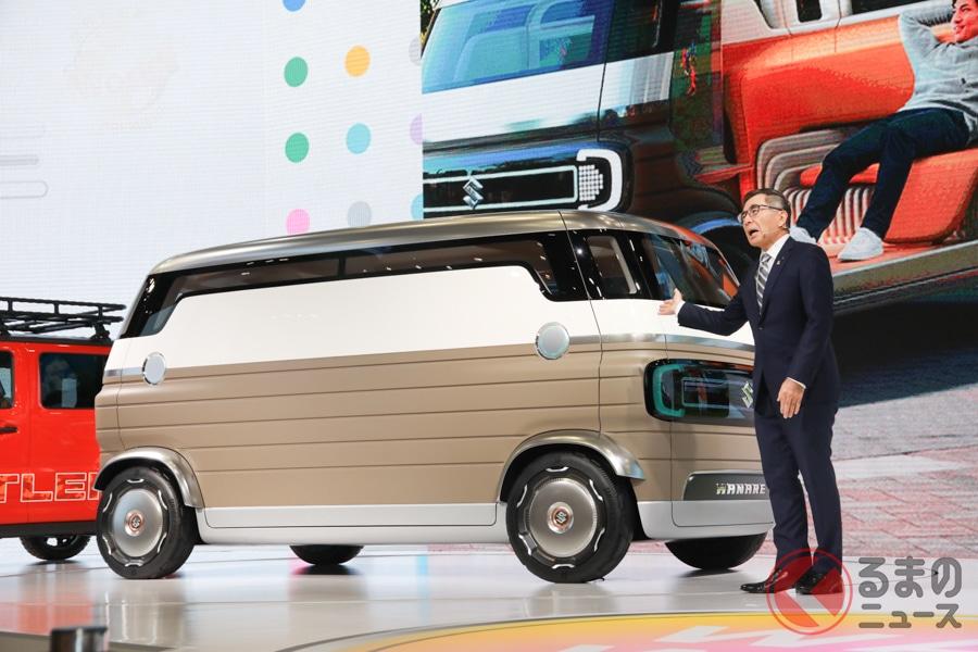未来のスズキ車は形が変化する? ワクワクをシェアする「ワクスポ」とはどんなクルマ?