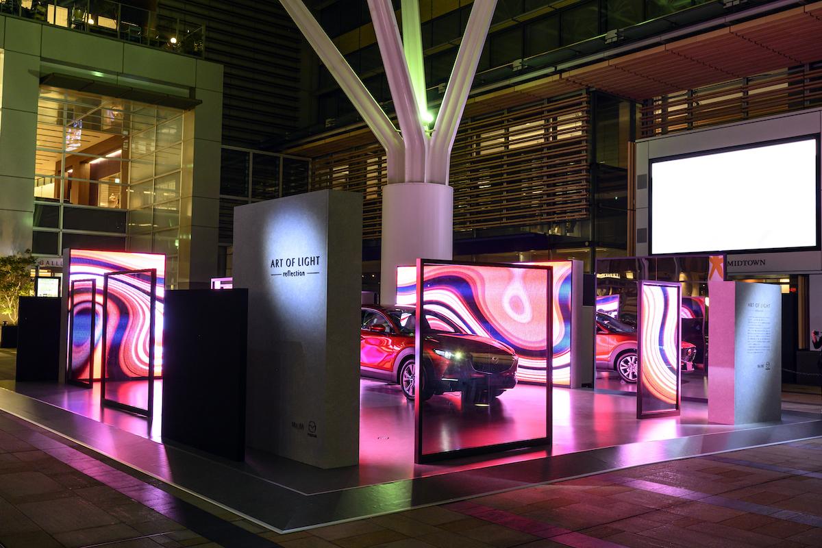 マツダ CX-30とアートがコラボ?Tokyo Midtown DESIGN TOUCH 2019にマツダが出展