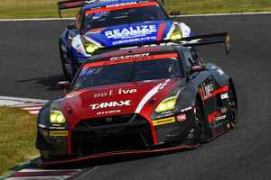 GAINER TANAX GT-Rが混乱のレースに勝つ!【スーパーGT選手権 Rd03鈴鹿 GT300クラス】