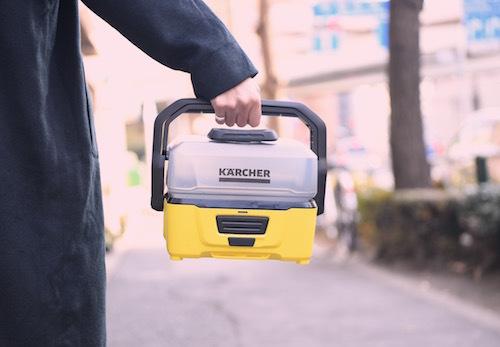水栓も電源も不要!! 洗車界の革命児!! ケルヒャーの新洗浄機がおもしろい