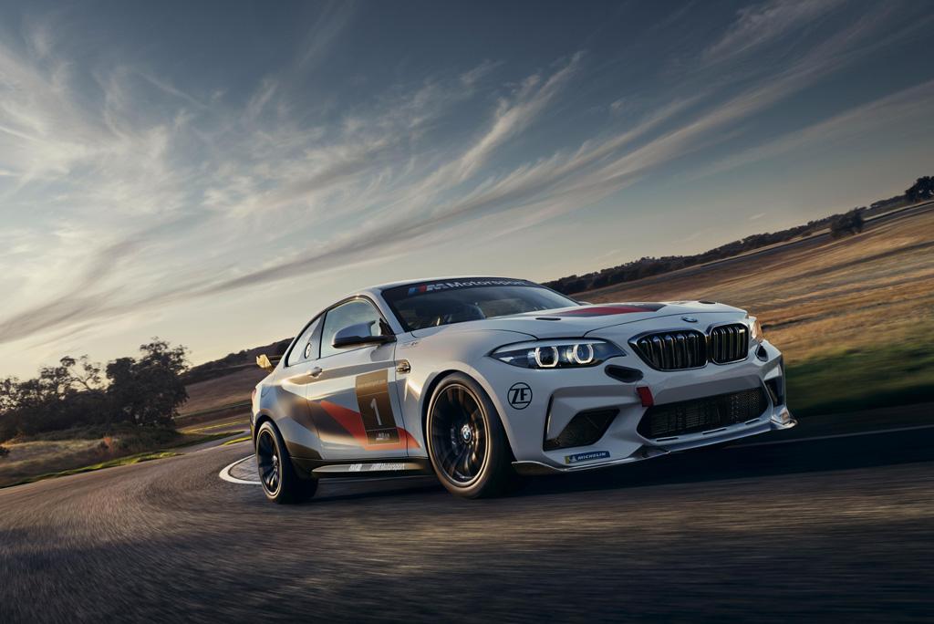 エントリーレベルの本格派、「BMW M2 CSレーシング」が北米デビュー!