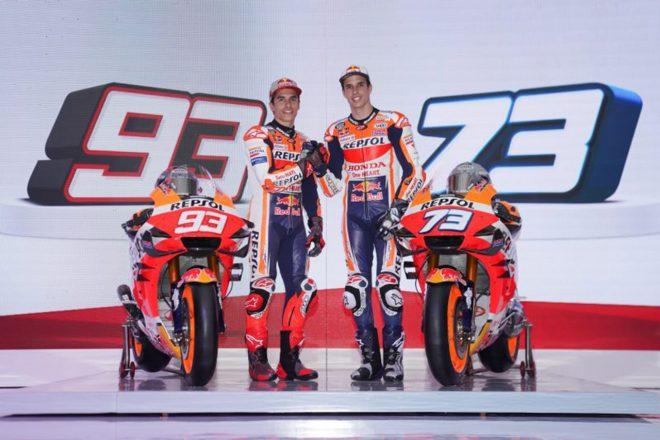 MotoGP:マルケス兄弟擁すレプソル・ホンダがインドネシアで体制発表。20年型RC213Vもアンベイル