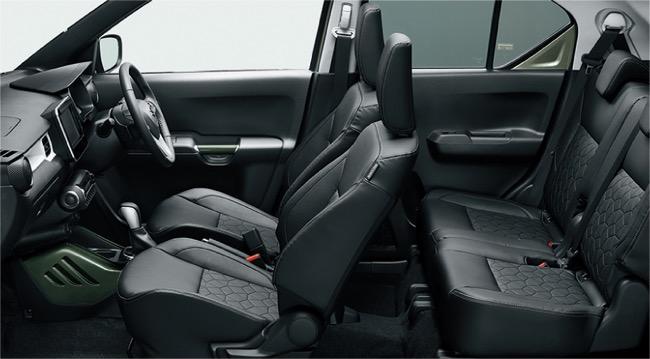 SUVルックのイグニスが登場!一部改良で快適・安全装備も充実
