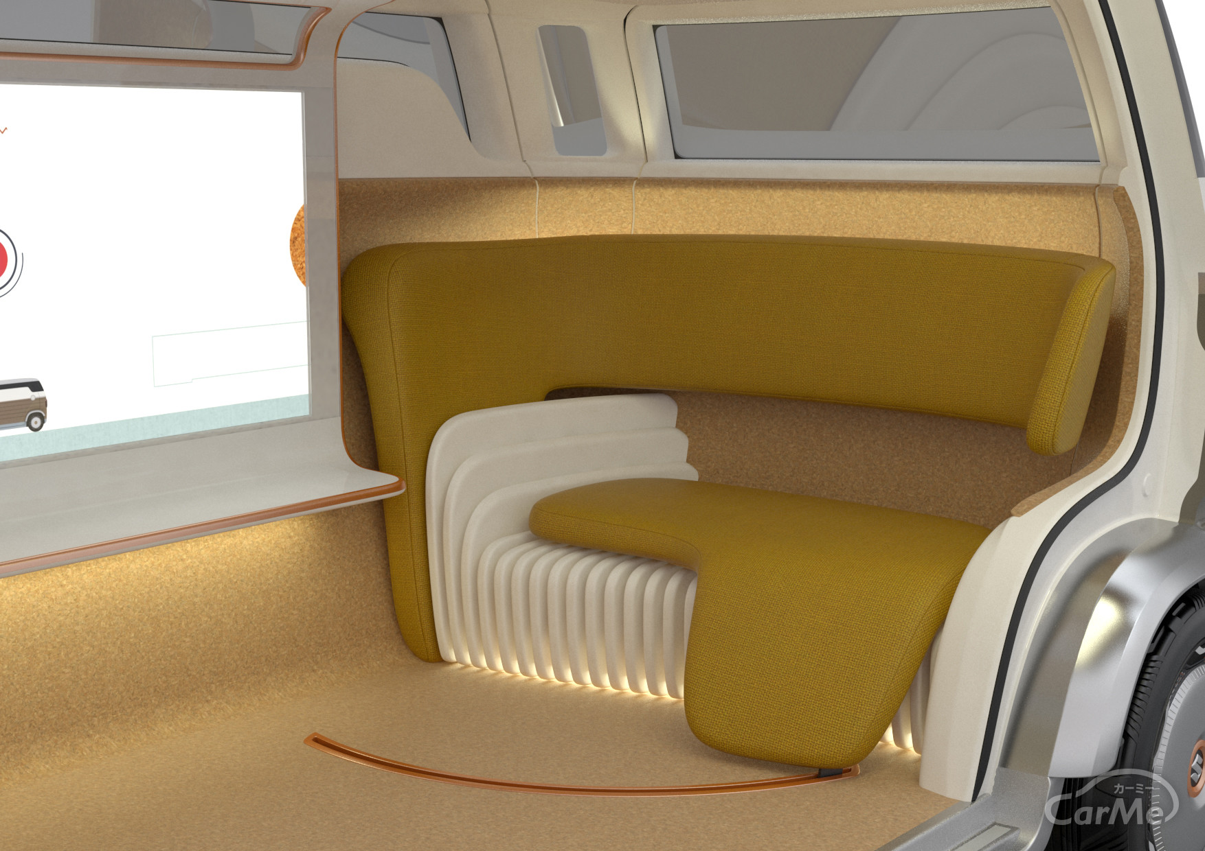 完全自動運転時代のシートアレンジ!室内はもっと自由にもっと広くなる!?