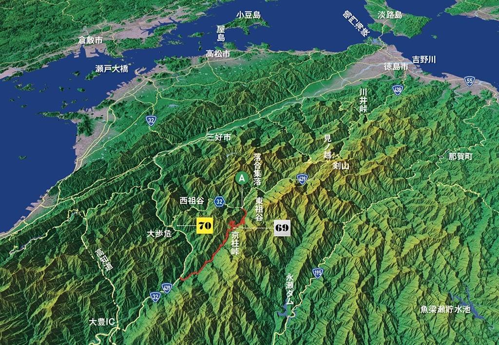 深い谷を埋めつくす大歩危峡の名物「八合霧」(徳島県 吾橋雲海展望台)【雲海ドライブ&スポット Spot 70】