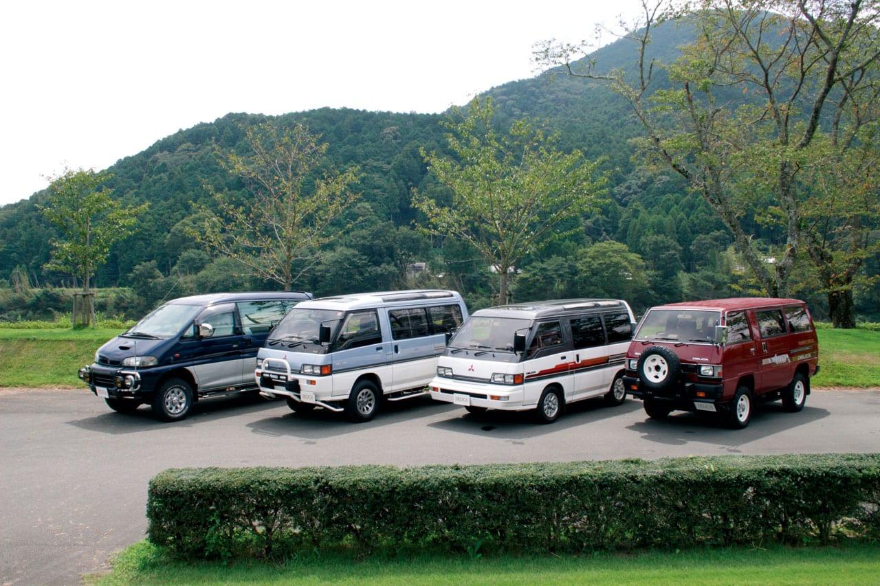 歴代デリカを比べまSHOW Vol.2 スターワゴン2WD 2000ガソリン クリスタルライトルーフエクシード