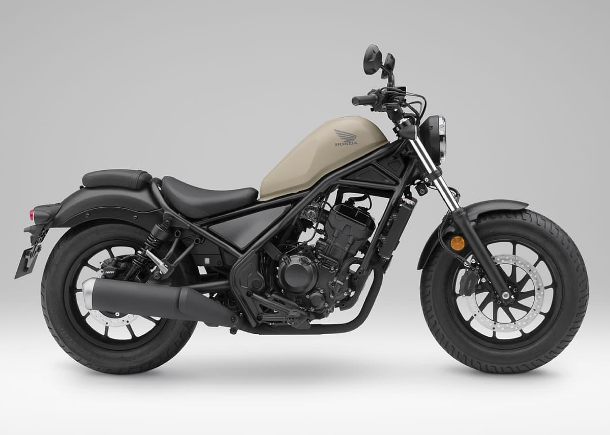 ホンダのクルーザーバイク「Rebel 250」が初のマイナーチェンジ!純正アクセサリーを標準装備するモデルを設定