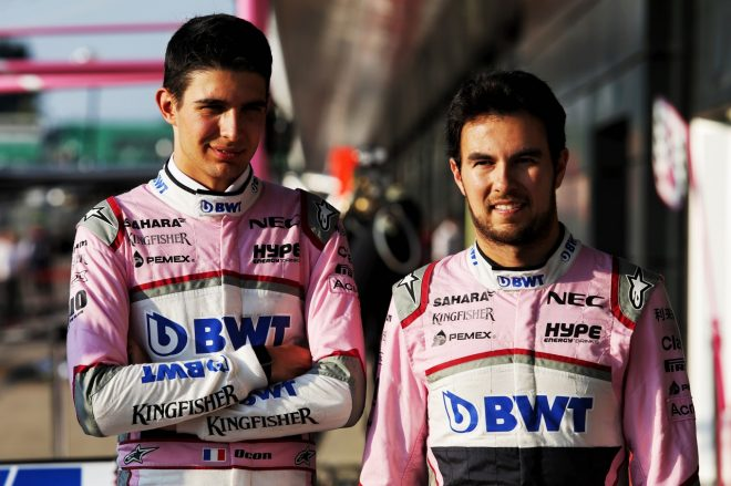 フォース・インディアF1「シーズン中のドライバー交代は今のところ考えていない」。ストロールのシート合わせは2019年向けと主張