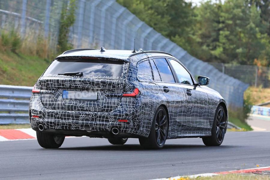 新型BMW 3シリーズ・ツーリング 最新画像7枚 2019年前半、登場へ