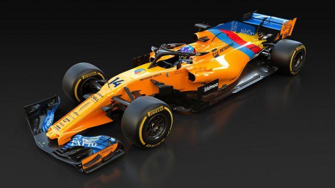 マクラーレン、F1を去るアロンソに敬意を表し、スペシャルカラーのマシンを用意。32年ぶりの取り組み