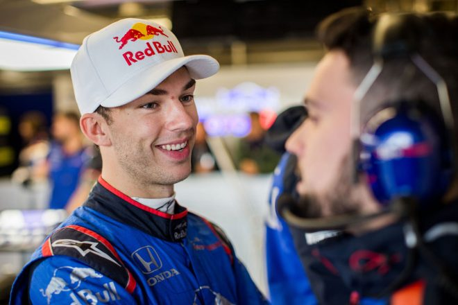 ガスリー、トロロッソ・ホンダF1でのラストレースで感傷的に「好結果を出して、最高の形で別れを告げたい」