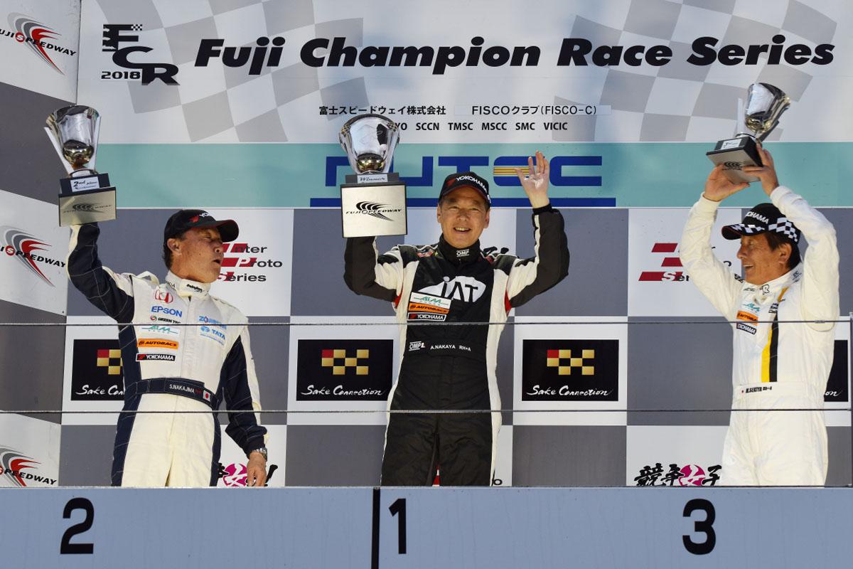 61歳最年少ドライバー「中谷明彦選手」がレジェンドカップ第1戦を制する