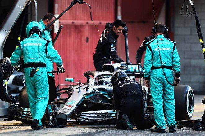 ボッタス、メルセデスF1の進歩を実感も「フェラーリには強力なパッケージがある」とライバルを警戒