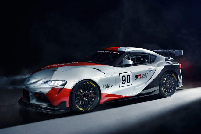 トヨタ、ジュネーブショーでGRスープラのGT4スタディモデル『GRスープラGT4コンセプト』を公開へ