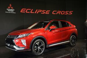 【動画あり】三菱自動車4年ぶりの新型車「エクリプスクロス」を発売! 価格は253万円から