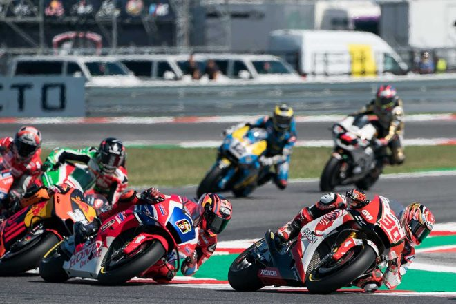 MotoGP:中上、サンマリノGPで今季6度目のポイント獲得。「ミスなく安定したタイムで走り切れた」