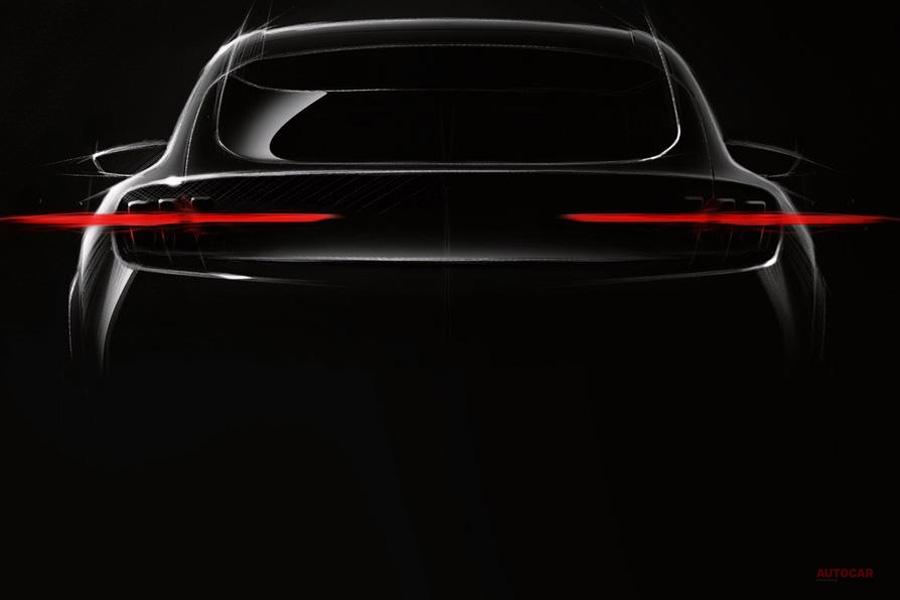 「フォード・マッハ1」マスタング風EV 一部画像公開 CX430のうわさも