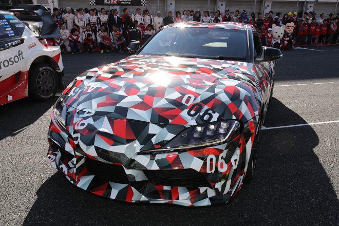 『TGRF2018』にGRスープラ・レーシングコンセプトが登場。ドライブした脇阪寿一を虜に