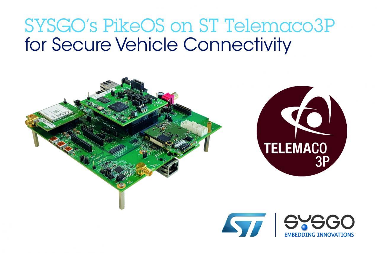 SYSGO、STマイクロエレクトロニクス:セキュアな自動車用通信技術をCES 2020で展示