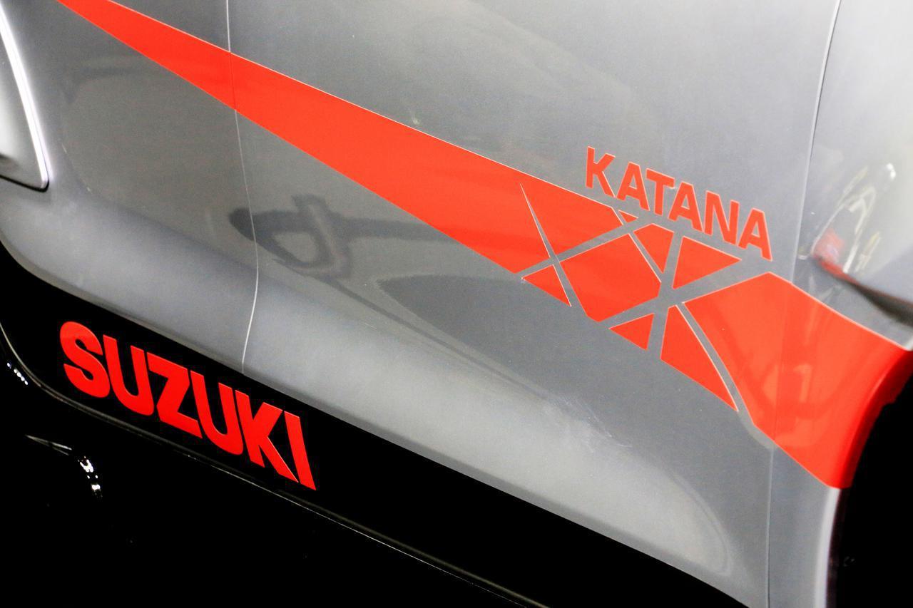 【速報】KATANAのデザインを落とし込んだ「スイフトスポーツ カタナエディション」をスズキがお披露目!【東京オートサロン2020】