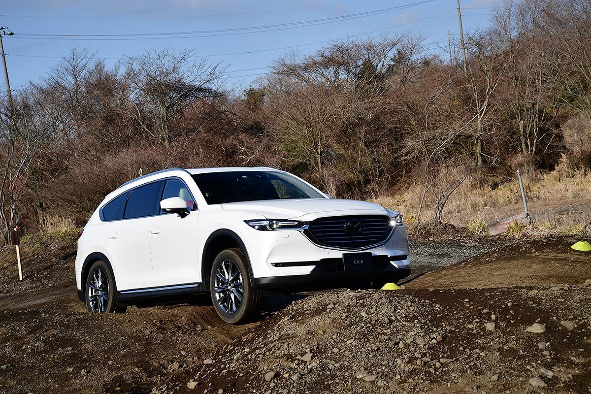 【試乗】新機能追加で悪路走破性アップ! マツダ最新SUVのオフロード性能を試す