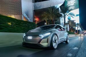 """アウディがCES 2020で公開した「AI:ME」、自らが""""考える""""未来の自動車を提示"""