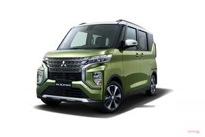 【三菱の新型】軽スーパーハイトワゴン eKクロス スペース/eKスペース