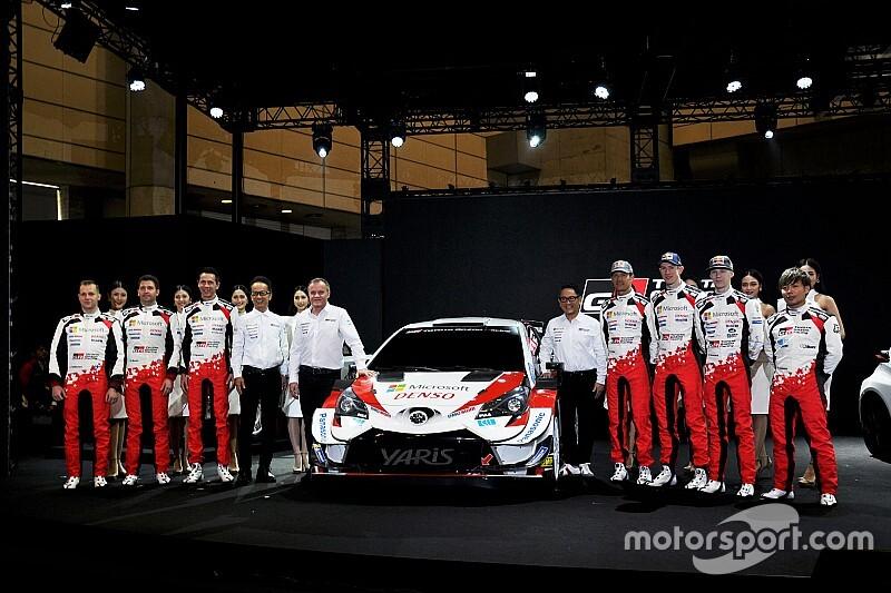 "WRCの""帝王""セバスチャン・オジェ来日! トヨタを駆るラストシーズンで「7度目のタイトル目指す」と高らかに宣言"