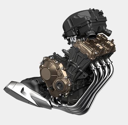 直4エンジン、倒立フロントフォーク、走りに磨きをかけたホンダの新世代ネイキッドマシン「CB650R」