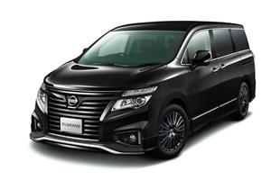 日産 「エルグランド ハイウェイスター ジェットブラックアーバンクロム」特別仕様車を発売
