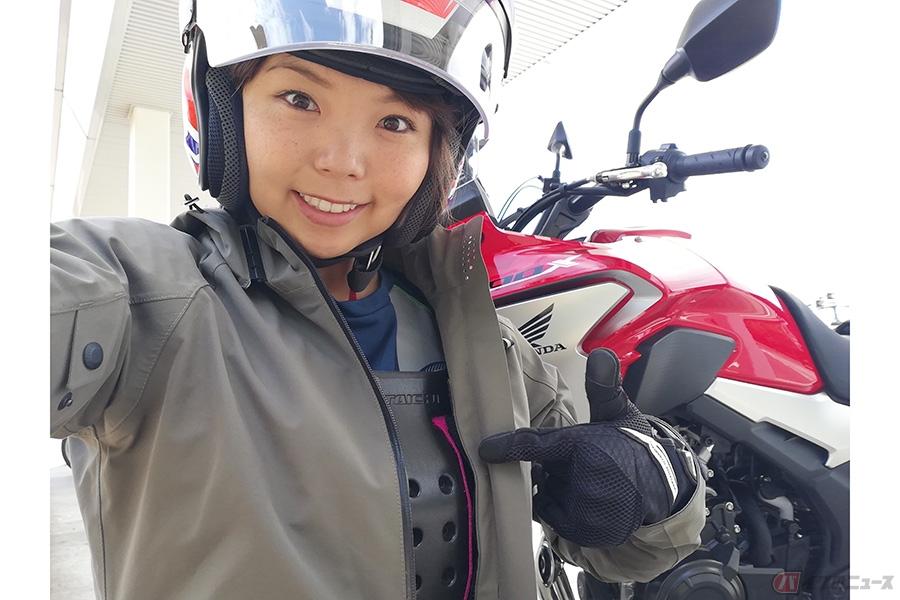 ニッチな職業バイクタレント バイク用品へのこだわりと日ごろ心がけている事とは?